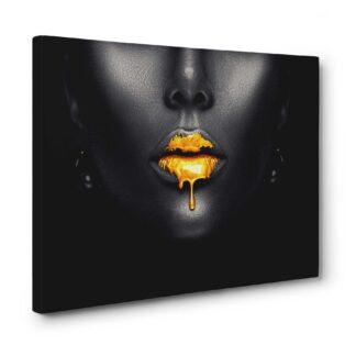 Tablou canvas gold